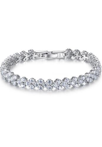 MATCH silver High quality Silver S925 silver hearts and arrows bracelet D3E69AC64CB4E1GS_1