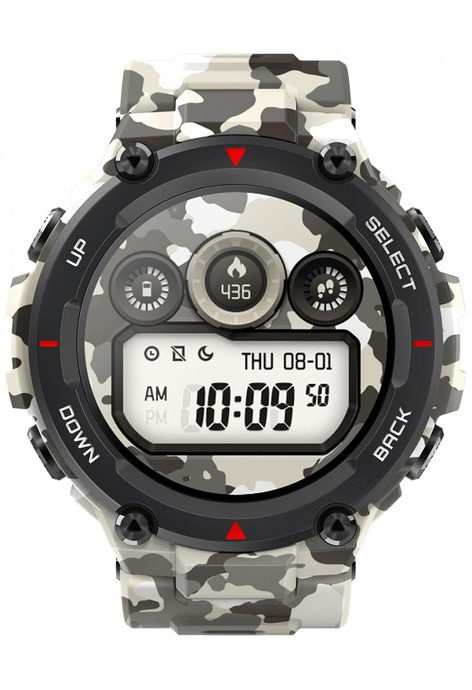 Amazfit T-Rex New Military Style Sport Watch, Camo (International Version)