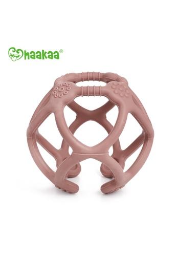 Haakaa Haakaa Silicone Teething Ball - Blush FF27BESF52FA86GS_1
