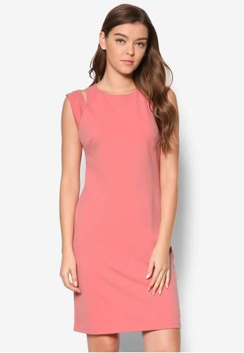 Cilla 鏤空直esprit門市筒式連身裙, 服飾, 洋裝