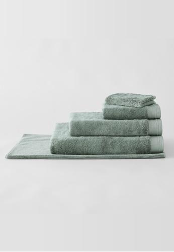 Sheridan green Supersoft Luxury Slate Green Bath Towel 1317DHL8F9E0D7GS_1