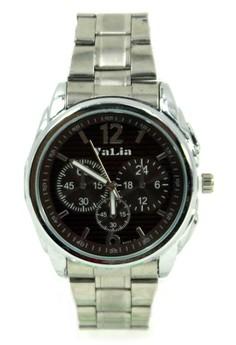 Valia Keegan Unisex Brown Stainless Steel Strap Watch 8165-2