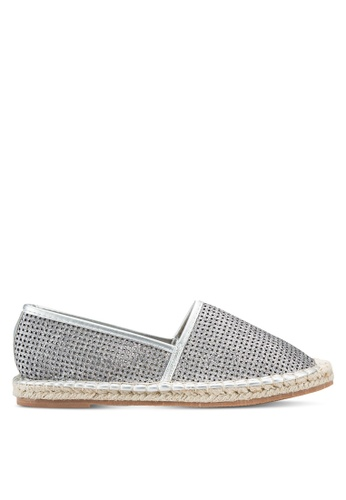 addicts anonymous silver Charlie Metallic Espadrilles AD479SH59MJCMY_1