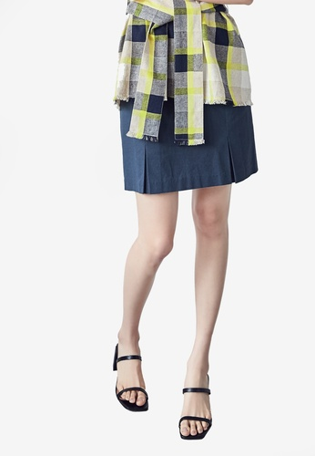 NAIN navy Casual Mini Skirt 3049EAA590D99BGS_1
