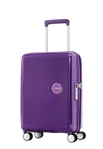 American Tourister purple American Tourister Curio Spinner 55/20 TSA AM536AC66ZYBSG_1