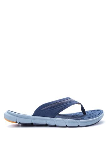 Skechers navy Hugom Sandals & Flip Flops SK173SH13JAGPH_1