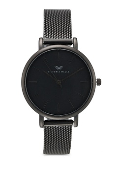 b84643688a Victoria Walls Watches black Designer Watch-Elegant Milanese Mesh Strap  4DC4FAC415A9E3GS 1