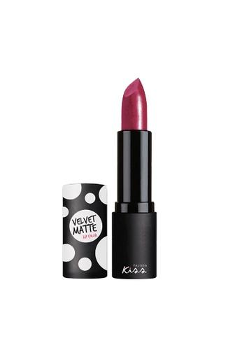 Malissa Kiss n/a Velvet Matte Lip Sweet Maroon#7 MA835BE0J9Y5PH_1