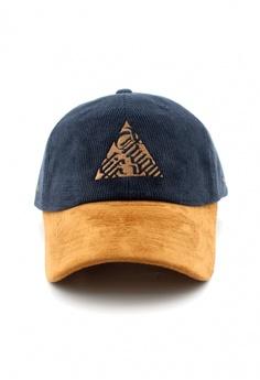 86a2f6537dde8d DOSSCAPS FLIPPER Thug Triangle Baseball Cap (Navy) RM 129.00. Sizes One Size