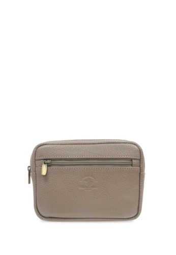 Santa Barbara Polo & Racquet Club grey Santa Barbara Polo & Racquet Club Clutch Bag 0B3B1AC18B7423GS_1