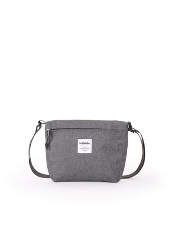 Hellolulu grey Hellolulu Cana Compact Utility Bag (Pebble Gray) 583FFACF0EBBA3GS_1