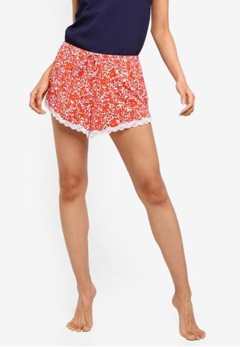 Cotton On Body orange Love Shorts 74308AAA032CB6GS_1
