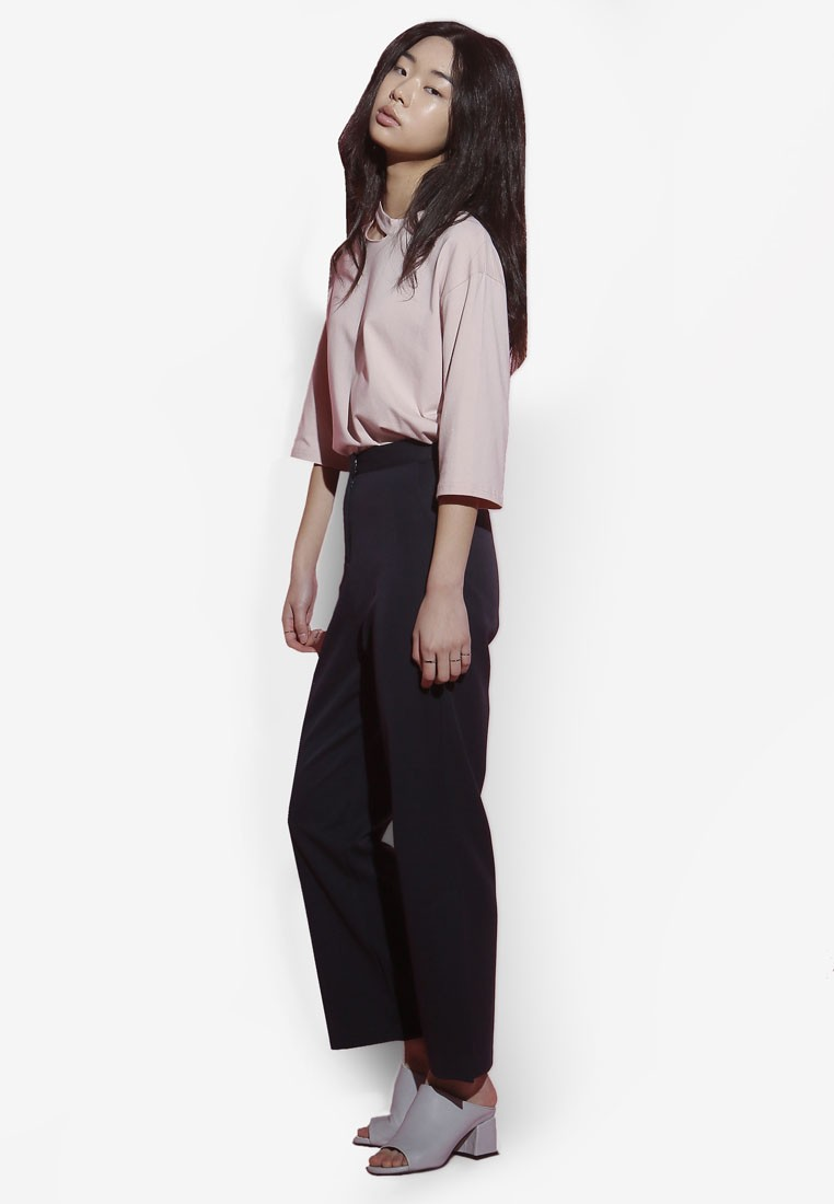 Korean Style Side Slit Pants