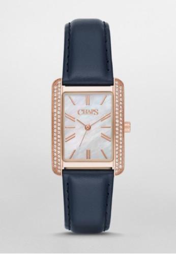 CHAPS Reece方型簡約腕錶 Cesprit outletHP1021, 錶類, 淑女錶
