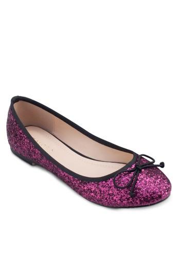 蝴蝶結亮面平底鞋, 女鞋zalora 心得, 鞋