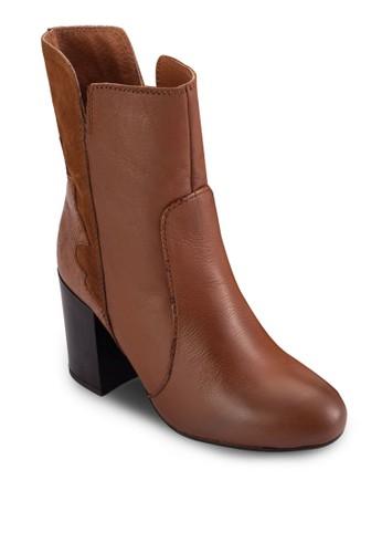 Arkazalora 泳衣de 混合拼接高跟短靴, 女鞋, 鞋