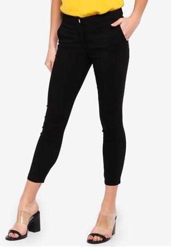 FORCAST black Janette Slim Cropped Pants 1EEA4AA77ADD3EGS_1