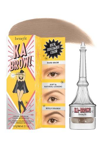 Benefit brown Benefit ka-BROW! Eyebrow Cream-Gel Color - Shade 02 (Light) F9C93BE4154185GS_1