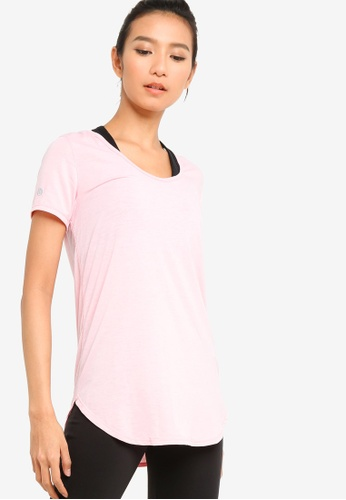 Cotton On Body red Gym T-Shirt 1821DAAE07A653GS_1
