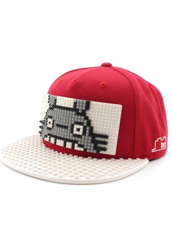 DOSSCAPS white and red BRICKBRICK Totoro Basic Set - Red White 4E5E7AC440FA32GS_1
