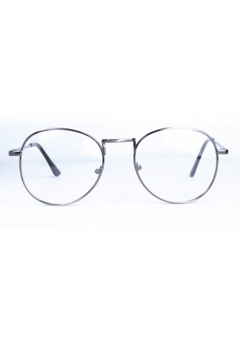 Kyfer's Eyewear & Essentials silver Oversize College Metal Eyewear KY376AC00RVRSG_1