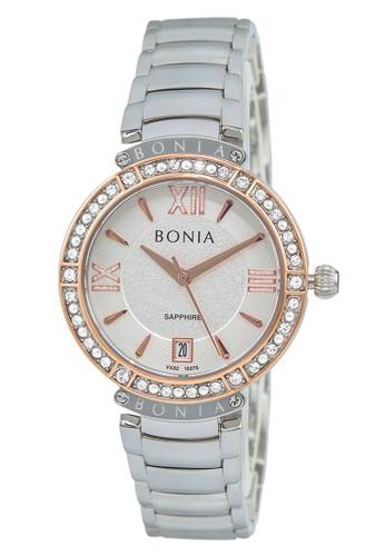 BONIA silver Bonia BP10375-2313S - Jam Tangan Wanita - Silver 8ACDEACE60486DGS_1