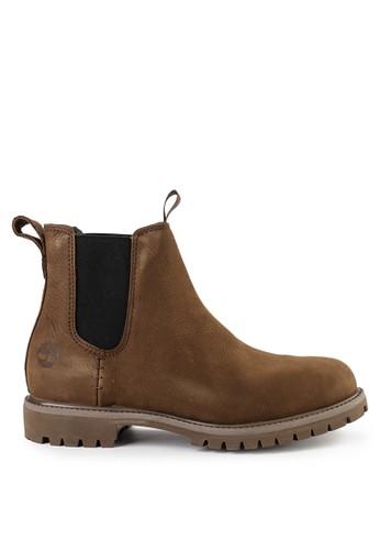 "Timberland brown 6"" Premium Chelsea 1E6E1SH5D10F20GS_1"