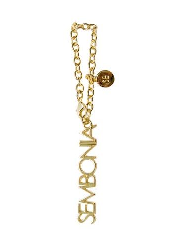 SEMBONIA gold SEMBONIA Keychain BCB84AC5E8BDB8GS_1