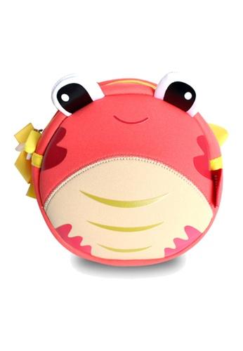 Nohoo red Nohoo Kids Sling Bag Crab (Red) D25FDKC91517D1GS_1