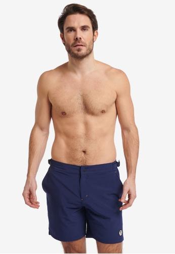 Shiwi 海軍藍色 Evan Easyfit Shorts 95163US5C978A5GS_1