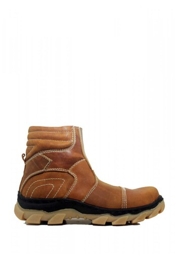 Cut Engineer brown Cut Engineer Safety High Quality Limited Genuine Leather F9EEASHD721AB7GS_1