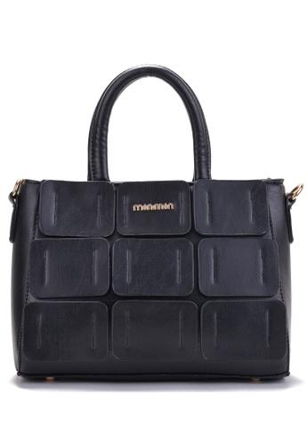 Vince black European Designed Luxury Vegan Leather Tote ( Black ) VI456AC81VGCMY_1