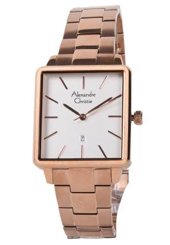 Alexandre Christie gold Alexandre Christie - Jam Tangan Wanita - Rosegold - Stainless Steel Bracelet - 2787LDBRGSL E98D6AC9F47A32GS_1