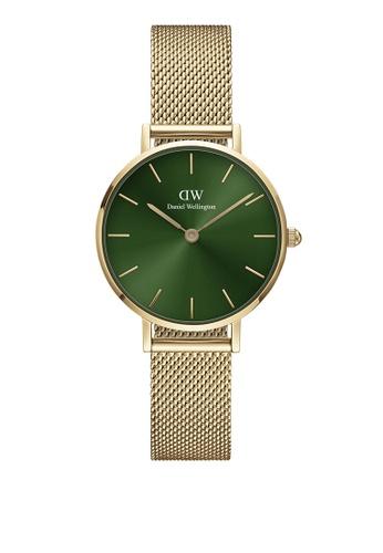 Daniel Wellington gold Petite Emerald 28mm Gold Green Watch 045E5AC28F617DGS_1