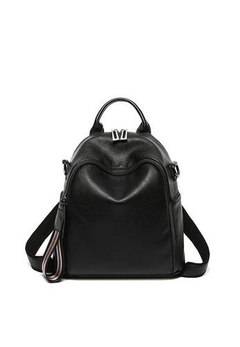 Twenty Eight Shoes black VANSA Pebbled Top Layer Cowhide Backpacks VBW-Bp12392 C68E6AC8CDCD66GS_1