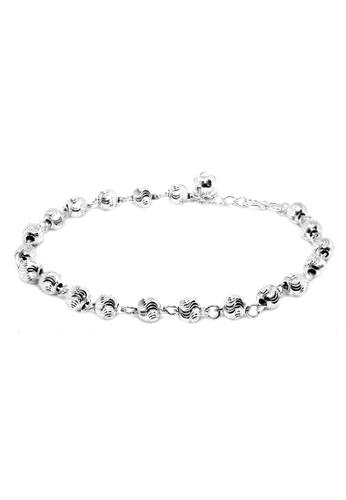 Elfi silver Elfi 925 Genuine Solid Silver Moon Beads Bracelet SB-21M  2F4A7AC94EF6F6GS 1 e9c6fcb863