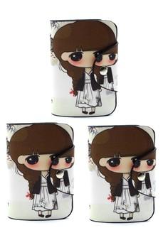 Set of 3 Dara Card Holder