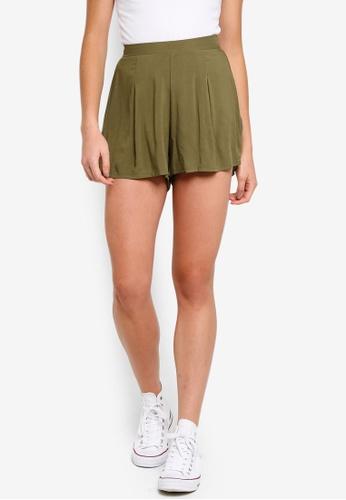 Cotton On green Maya Flirty Shorts 858D9AA032F6C4GS_1