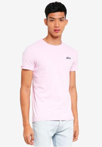 Superdry 粉紅色 短袖素色T恤 72F50AA03AE823GS_1