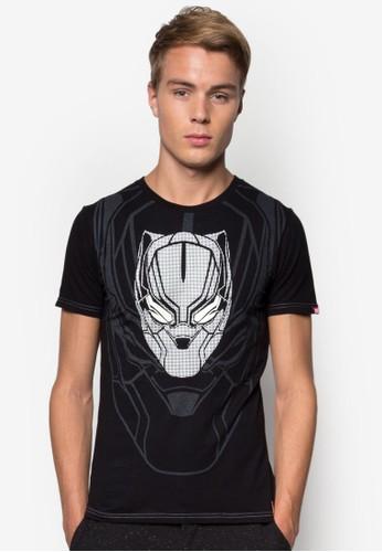 漫威黑豹圖案TEEesprit 兼職, 服飾, T恤