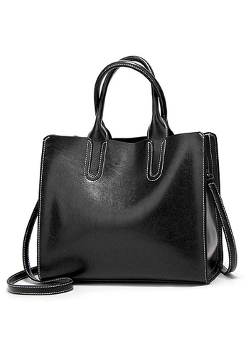 Twenty Eight Shoes black VANSA Simple Design Hand Bag VBW-Hb1U C3C26ACF5703A0GS_1