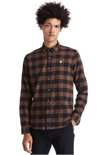 Timberland multi Timberland Men Long Sleeve Mascoma Check Shirt Solucell-TB0A2F3TAK9 4C191AA12ACDABGS_1
