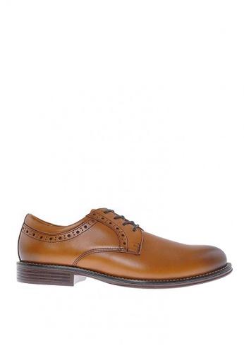 Sebago brown Flume Lace Up Formal Shoes D6D60SH7F0D119GS_1
