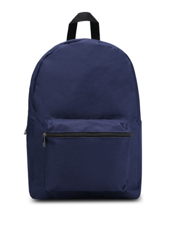 New Look navy MW Eaton Backpack NE182AC85EFQMY_1