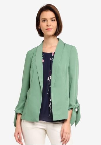Vero Moda green Ofelia Blazer EFD54AAB735A89GS_1