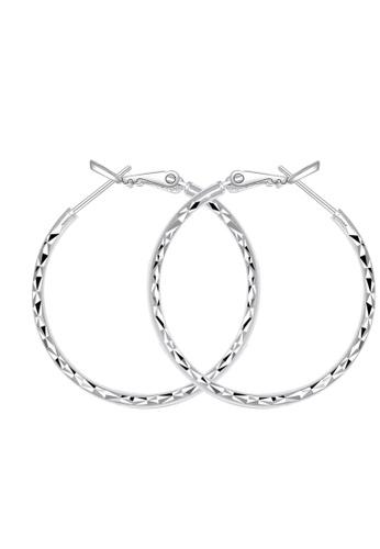 SC Tom Silver silver Prism 4 Loop Earring SC872AC15HXGPH_1