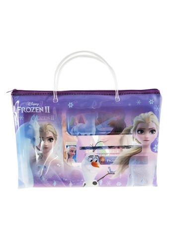 Disney Frozen Disney Frozen 2 Elsa Stationery Set With Transparent Document Bag 26551KC8DECE4DGS_1