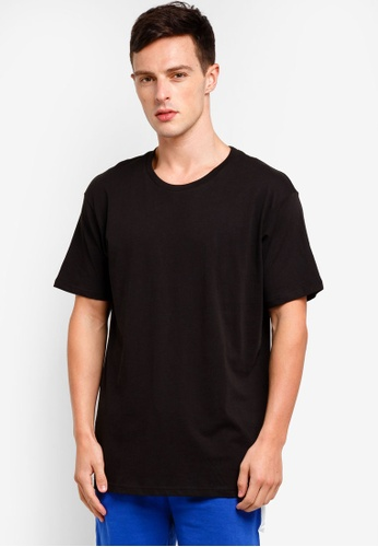 Cotton On 黑色 Essential Skate Tee 8F7A3AA835F412GS_1