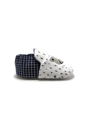 Aikaydan black and white and green Rockstar Racoon Shoes 2D917KS637F386GS_1