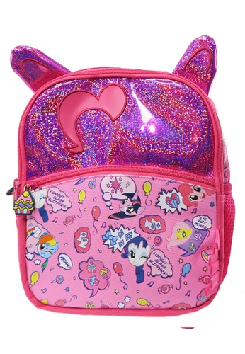 My Little Pony pink My Little Pony Shinning 10-inch Kids Backpack B7926KC335EBABGS_1